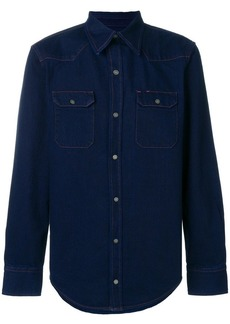 Calvin Klein denim fitted shirt