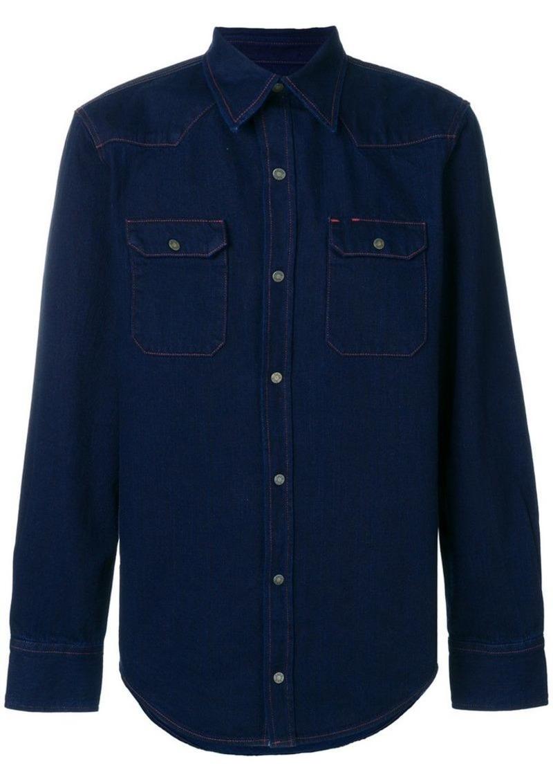 Calvin Klein denim fitted shirt