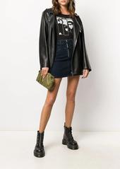 Calvin Klein denim mini skirt