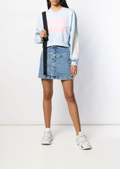Calvin Klein denim mini skirt
