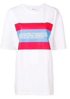 Calvin Klein designer bio print T-shirt