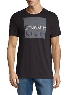 Calvin Klein Distressed Cotton Box Tee
