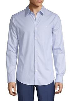 Calvin Klein Dot-Print Shirt