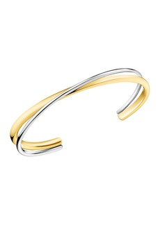 Calvin Klein Double Thin Intertwined Bangle Bracelet