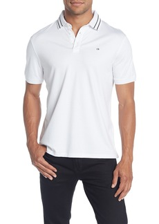 Calvin Klein Double Tipped Short Sleeve Polo