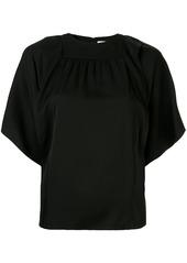 Calvin Klein draped detail blouse