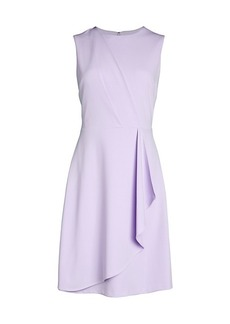 Calvin Klein Draped Flare Dress