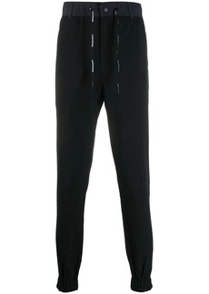 Calvin Klein drawstring waist tapered trousers
