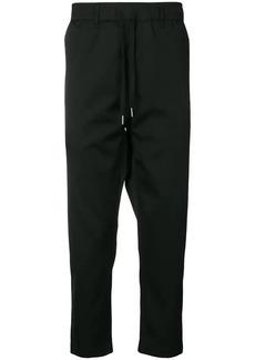 Calvin Klein drop-crotch drawstring trousers