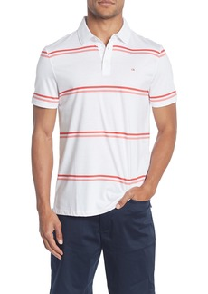 Calvin Klein Dual Bar Striped Polo