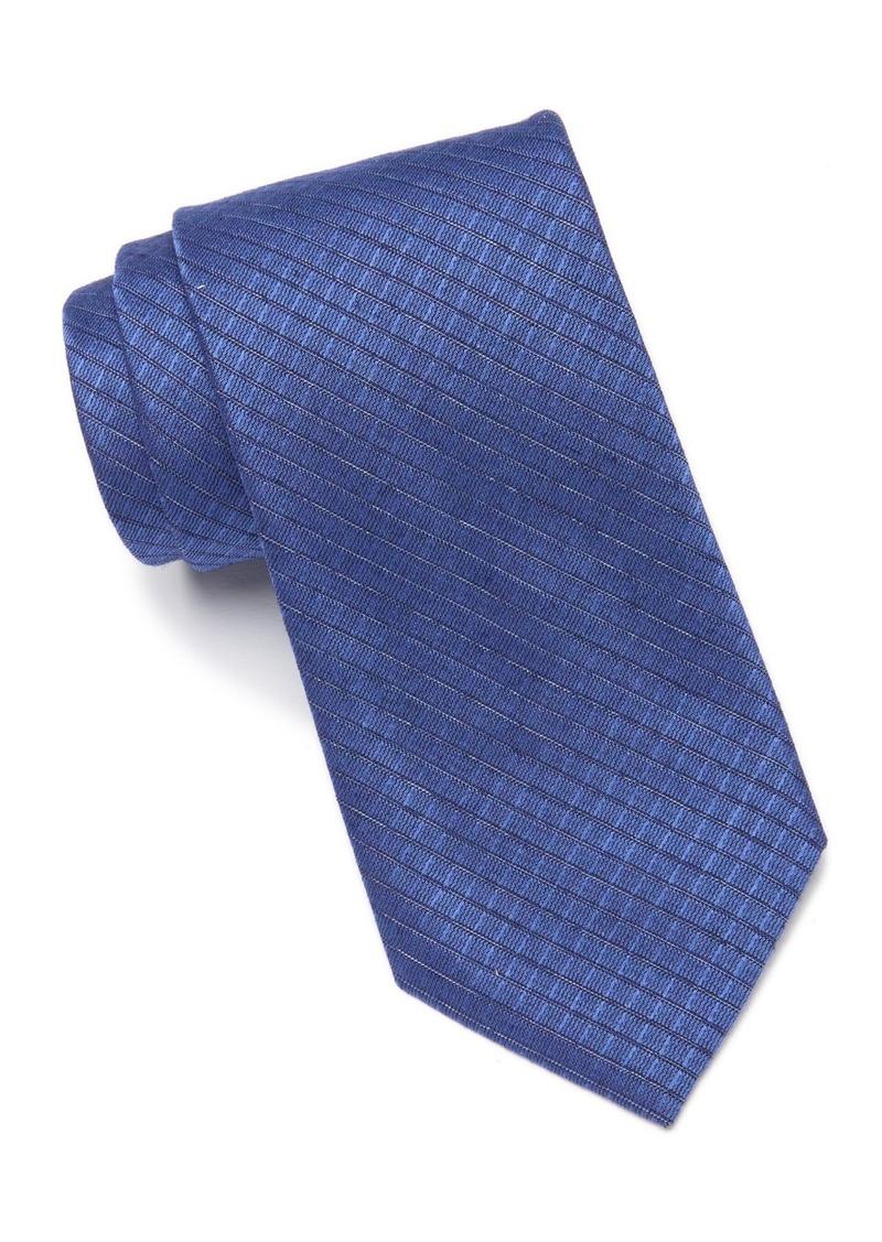 Calvin Klein Dual Grid Check Tie