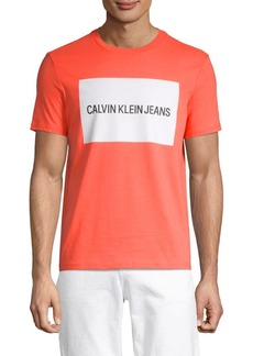 Calvin Klein Edi Box Logo Cotton Tee