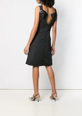 Calvin Klein embellished back dress