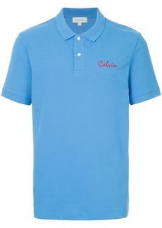 Calvin Klein embroiderd Calvin polo shirt