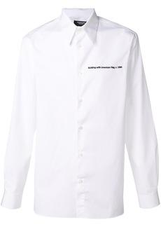 Calvin Klein embroidered detail shirt