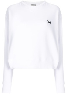 Calvin Klein embroidered logo detail jumper