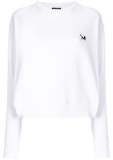 Calvin Klein embroidered logo detail jumper