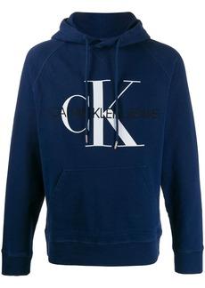 Calvin Klein embroidered logo hoodie