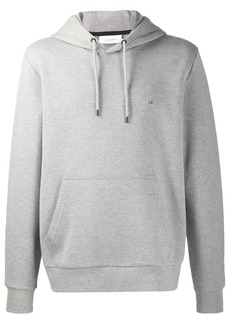 Calvin Klein embroidered logo loose-fit hoodie