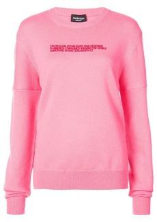 Calvin Klein embroidered text sweatshirt