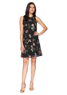 Calvin Klein Embroidered Trapeze Dress CD8H47NJ