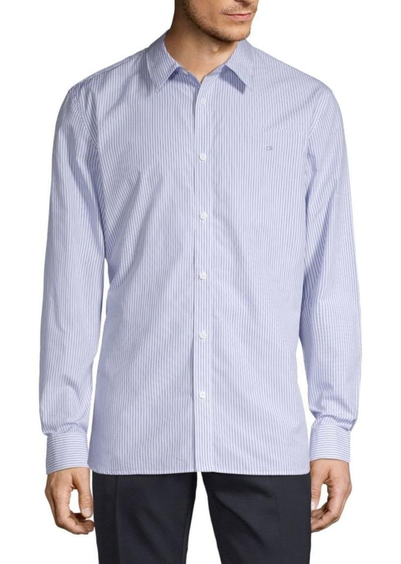 Calvin Klein Extra-Fine Cotton Pinstripe Shirt
