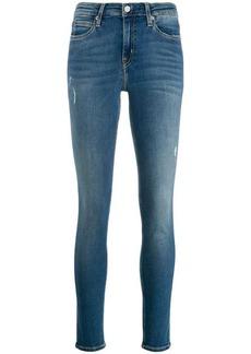 Calvin Klein faded skinny jeans