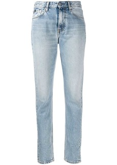 Calvin Klein faded slim fit jeans