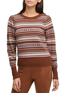 Calvin Klein Fair Isle Crew Neck Sweater
