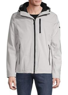 Calvin Klein Faux Fur-Lined Hooded Jacket