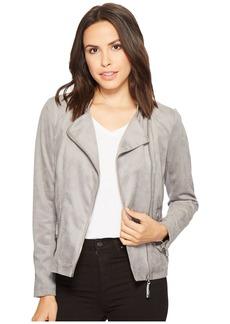 Calvin Klein Faux Suede Moto Jacket