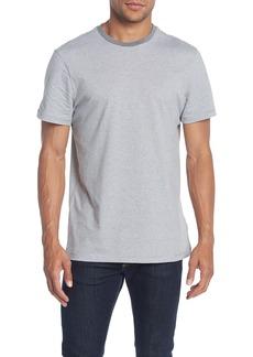 Calvin Klein Feeder Stripe Crew Neck T-Shirt