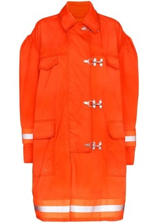 Calvin Klein Fireman reflective-trim cotton jacket