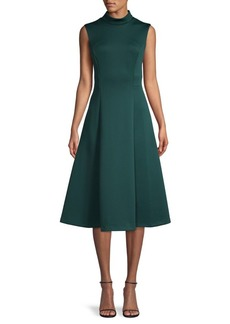 Calvin Klein Fit & Flare Sleeveless Dress