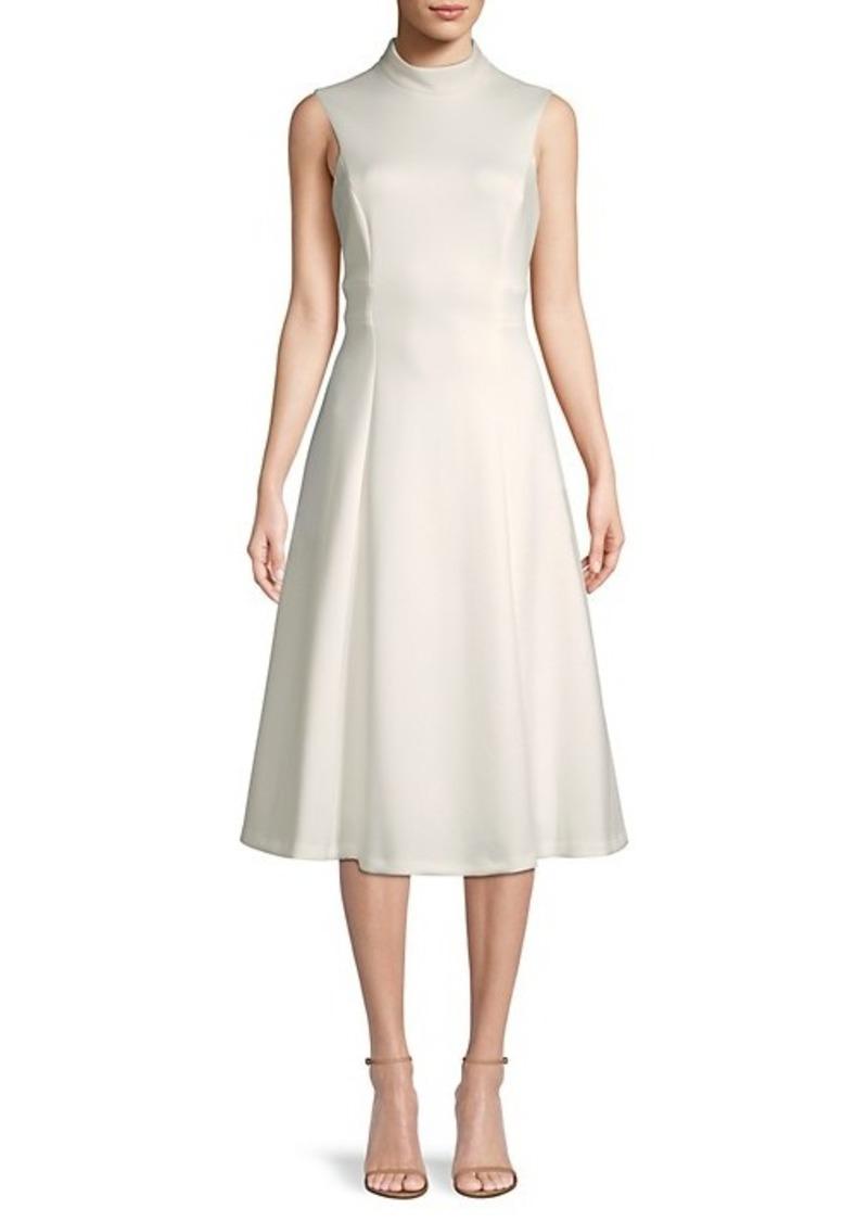 Calvin Klein Fit & Flare Sleeveless Dress