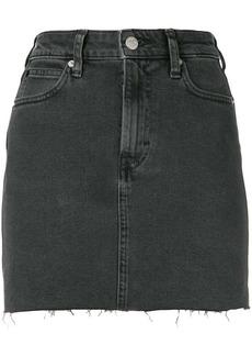 Calvin Klein fitted denim skirt