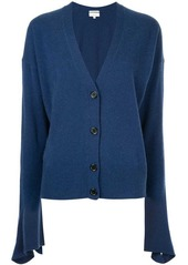 Calvin klein flared sleeve knitted cardigan abv2a9965f2 a