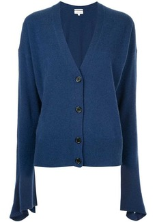 Calvin Klein flared sleeve knitted cardigan