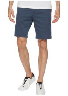 Calvin Klein Flat Front Striped Twill Shorts