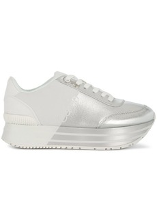 Calvin Klein flatform colour-block sneakers