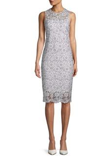 Calvin Klein Floral Lace Dress