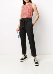 Calvin Klein floral print blouse