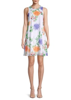 Calvin Klein Floral Mini Shift Dress