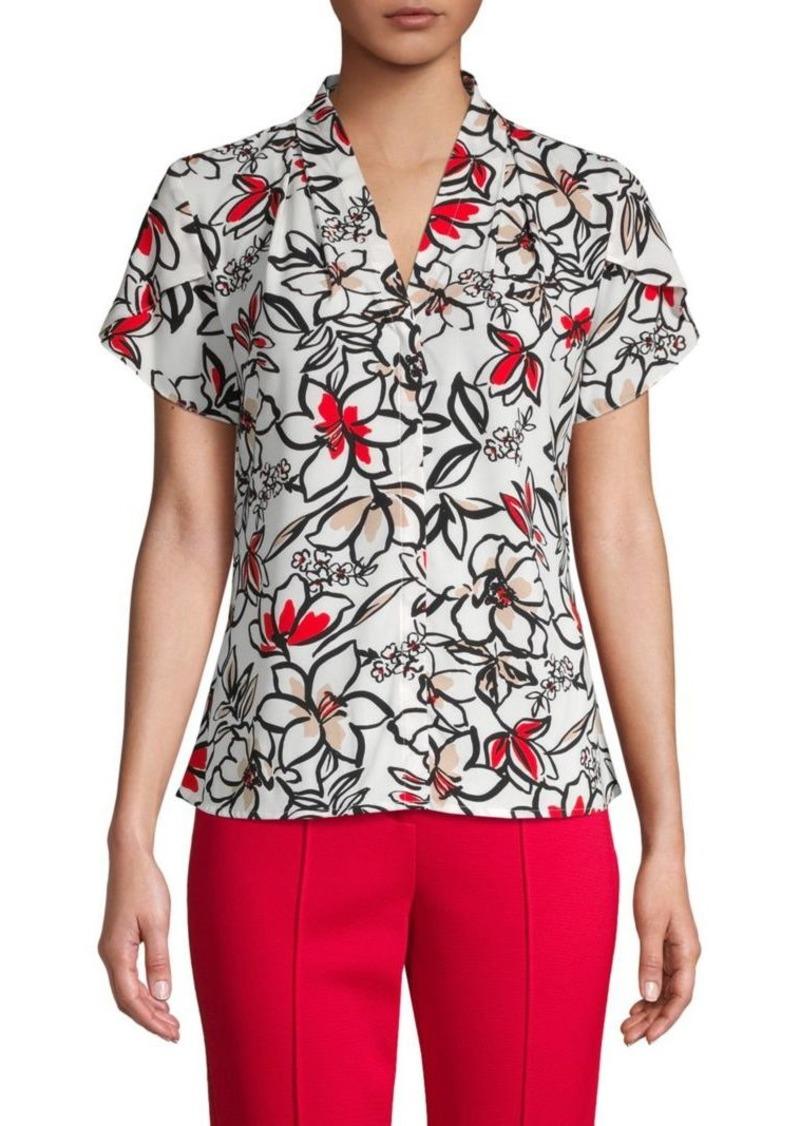 Calvin Klein Floral-Print Top