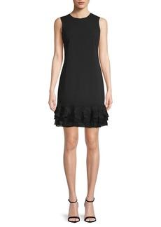 Calvin Klein Floral Sleeveless Dress