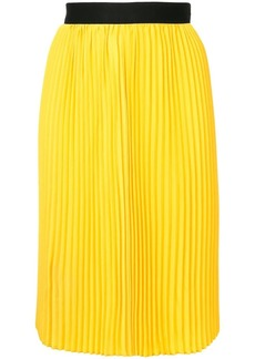 Calvin Klein fluid pleated skirt