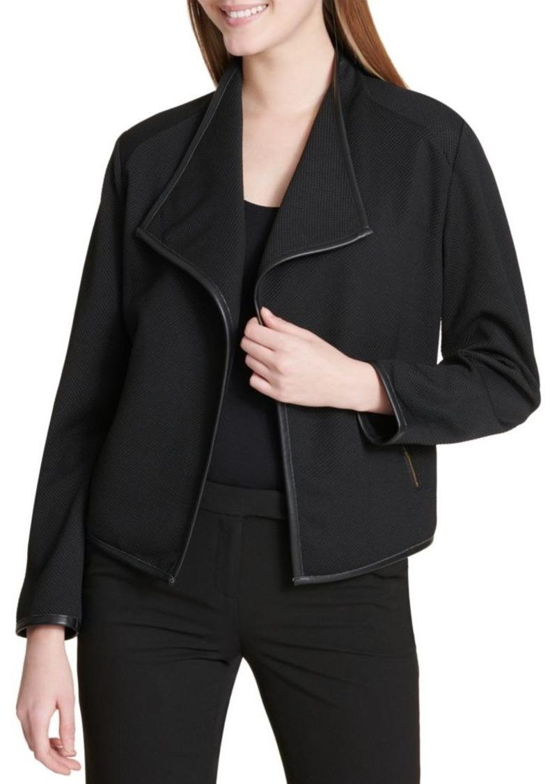 Calvin Klein Flyaway Open Front Jacket