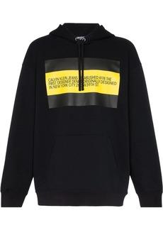 Calvin Klein front flag hoodie