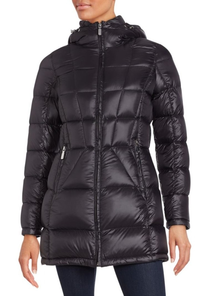 Calvin Klein Full Zip Puffer Coat