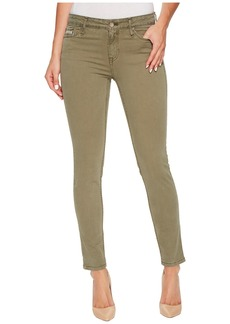 Calvin Klein Garment Dyed Ankle Skinny Pants in Ivy Mist